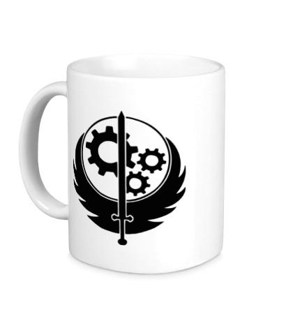 Керамическая кружка Fallout: Brotherhood of Steel