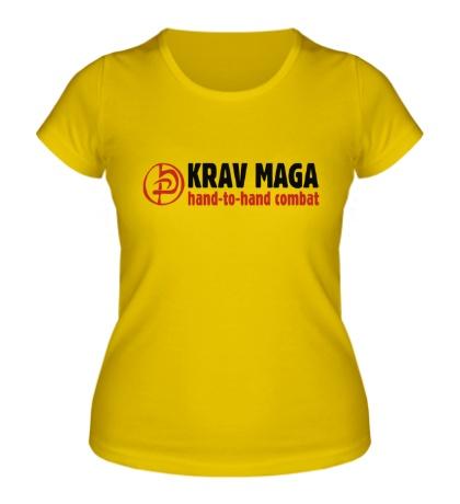 Женская футболка Krav Maga Combat