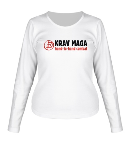 Женский лонгслив Krav Maga Combat