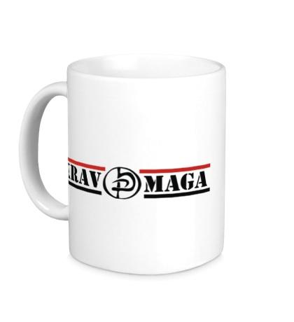 Керамическая кружка Krav Maga