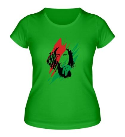 Женская футболка Bob Marley: Africa Unite