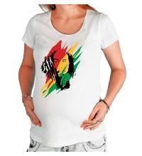 Футболка для беременной Bob Marley: Africa Unite