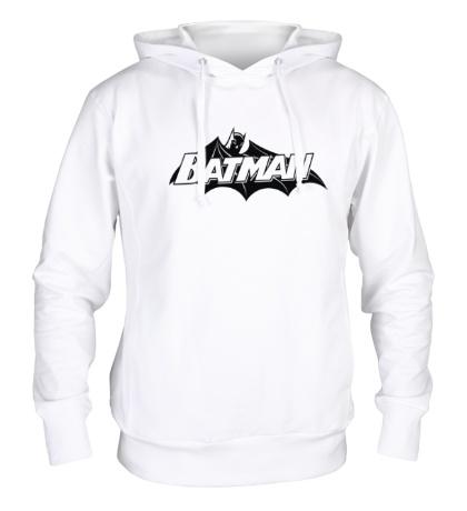 Толстовка с капюшоном Batman true