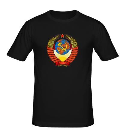Мужская футболка «Герб СССР»