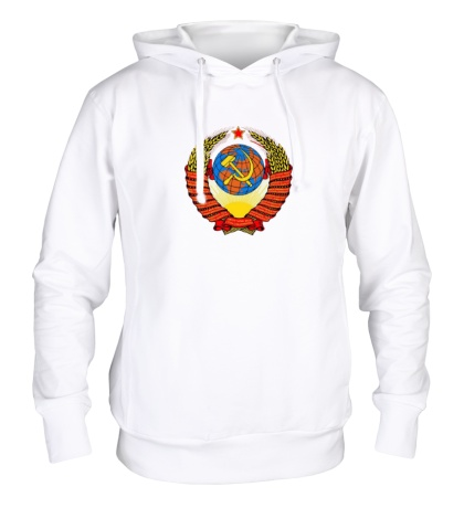Толстовка с капюшоном Герб СССР
