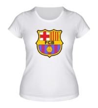 Женская футболка FC Barсelona