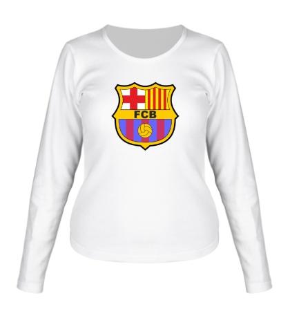 Женский лонгслив «FC Barсelona»