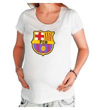 Футболка для беременной FC Barсelona