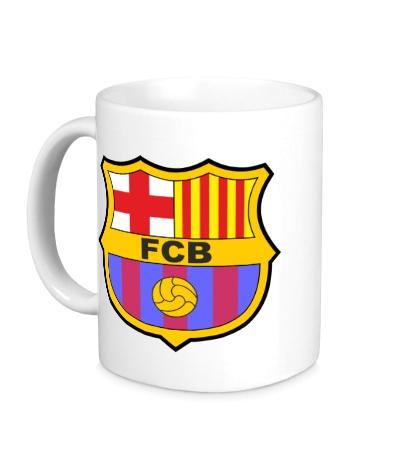 Керамическая кружка FC Barсelona