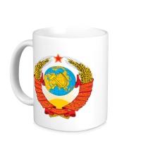 Керамическая кружка Герб СССР