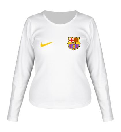 Женский лонгслив Форма Барселоны