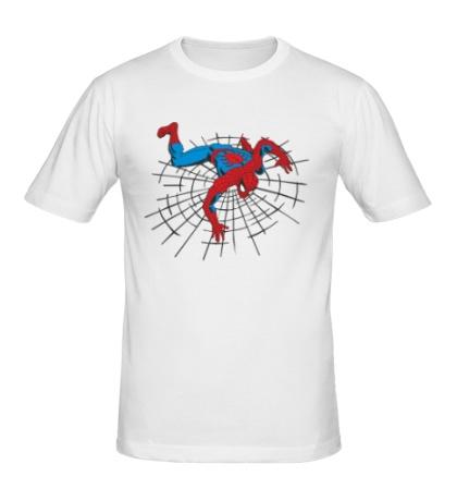 Мужская футболка Spiderweb