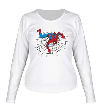 Женский лонгслив Spiderweb