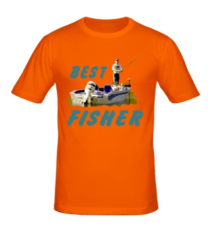 Мужская футболка Best Fisher