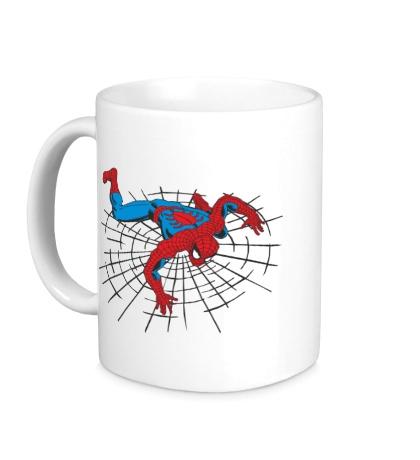 Керамическая кружка Spiderweb