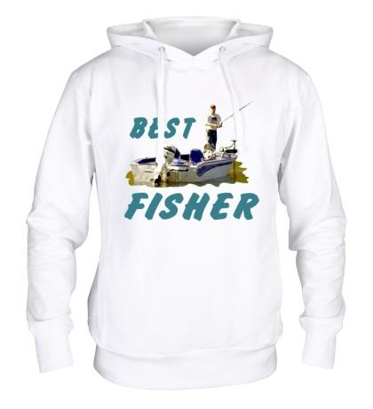 Толстовка с капюшоном Best Fisher