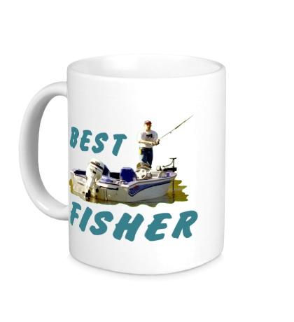 Керамическая кружка Best Fisher