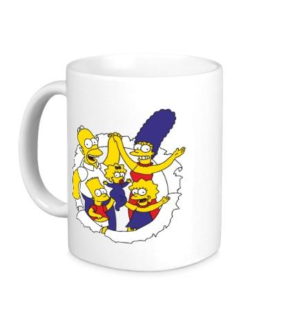 Керамическая кружка Семейка Симпсонов