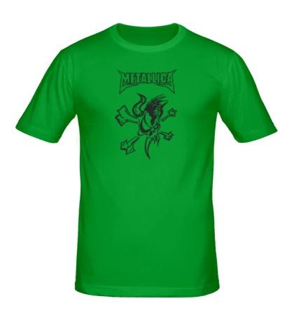 Мужская футболка Metallica Skull