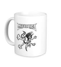 Керамическая кружка Metallica Skull