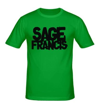 Мужская футболка Sage Francis