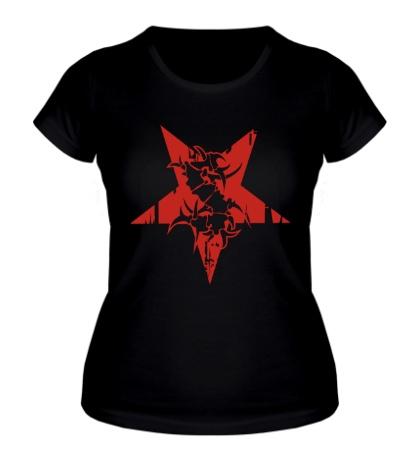 Женская футболка Sepultura Pentagram