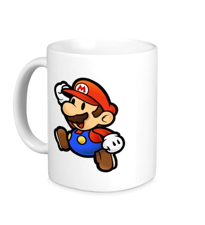 Керамическая кружка Mario