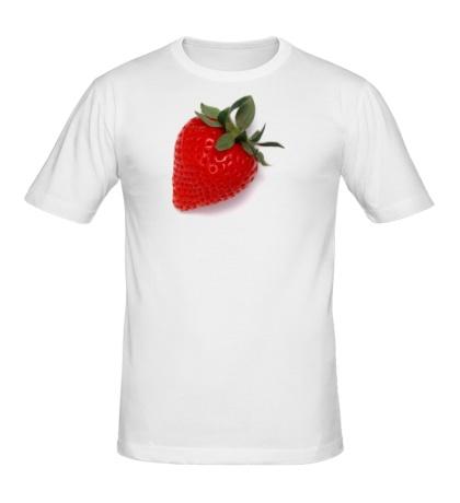 Мужская футболка Клубничка
