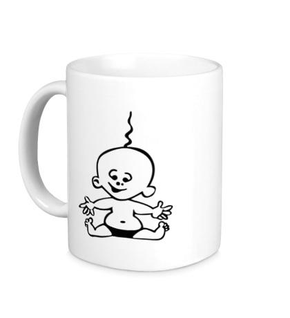Керамическая кружка Радостный малыш