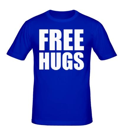 Мужская футболка Free hugs