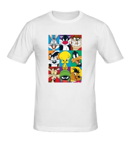Мужская футболка Looney tunes poster
