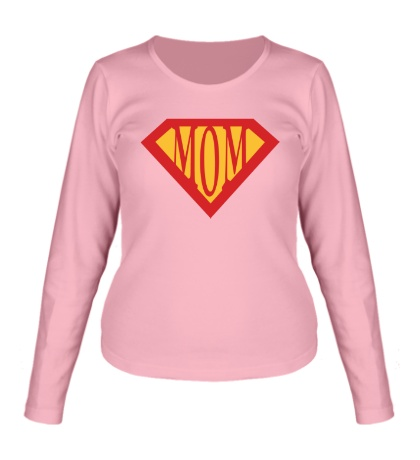Женский лонгслив Supermom