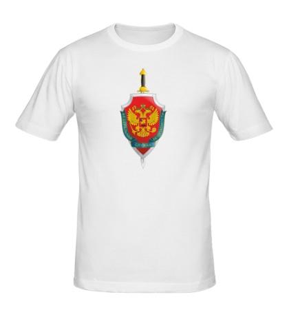 Мужская футболка Герб ФСБ