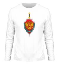 Мужской лонгслив Герб ФСБ