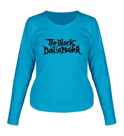 Женский лонгслив The Black Dahlia Murder