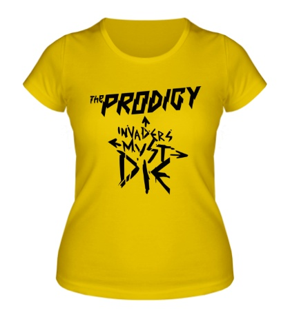 Женская футболка The Prodigy Must Die