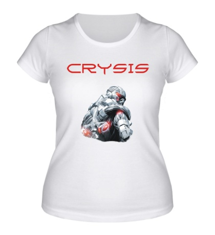 Женская футболка Crysis Unit