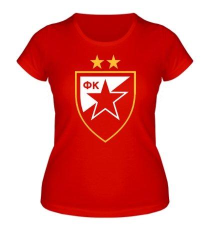 Женская футболка ФК Црвена Звезда