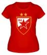 Женская футболка «ФК Црвена Звезда» - Фото 1