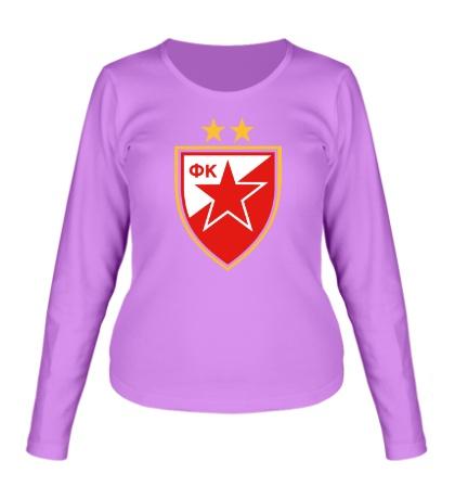 Женский лонгслив ФК Црвена Звезда