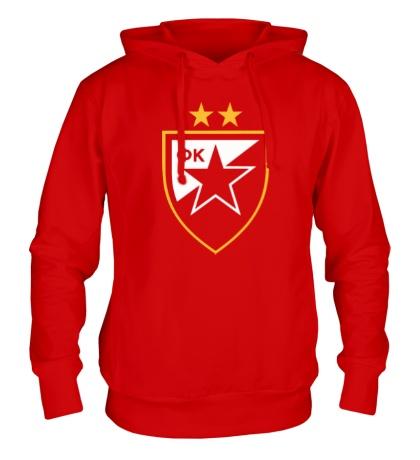Толстовка с капюшоном ФК Црвена Звезда