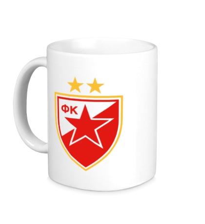 Керамическая кружка ФК Црвена Звезда