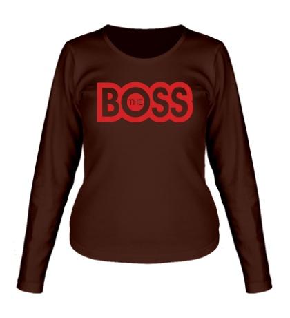 Женский лонгслив The Boss