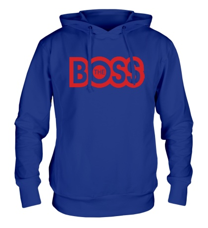 Толстовка с капюшоном The Boss