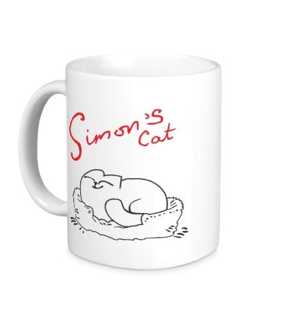 Керамическая кружка Simons Cat Sleep