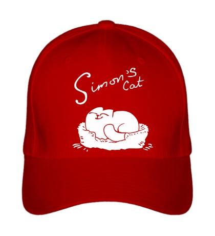 Бейсболка Simons Cat Sleep