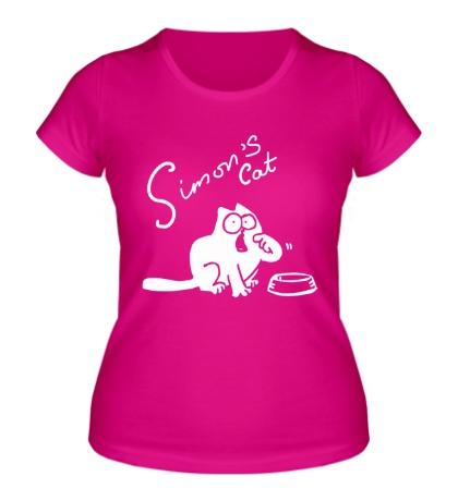 Женская футболка Simons Cat
