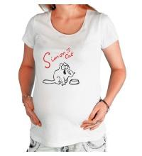 Футболка для беременной Simons Cat