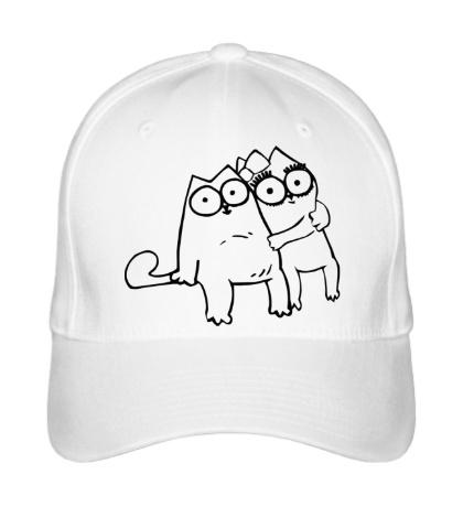 Бейсболка Simons Cat