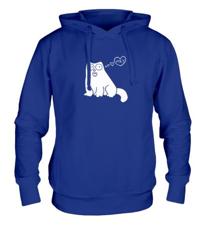 Толстовка с капюшоном Simons Cat